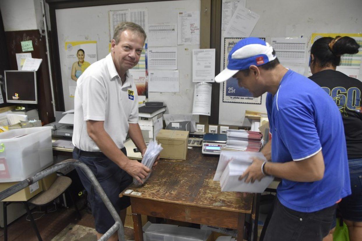 Échanges de métiers à la Poste polynésienne