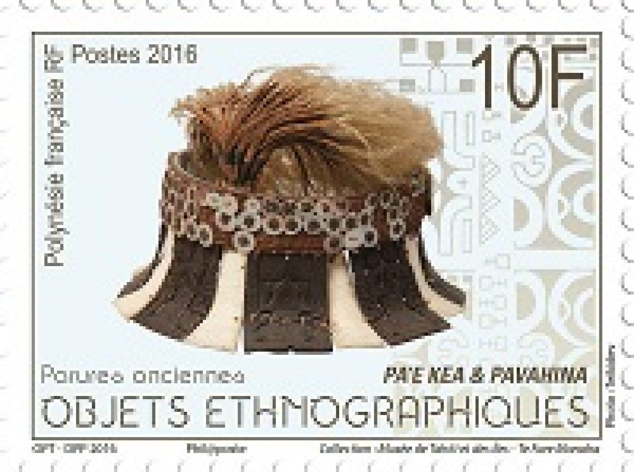 La Poste polynésienne se pare d'objets ethnographiques
