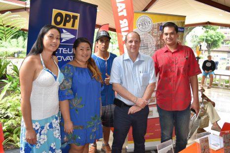 La Poste polynésienne fête les 70 ans de l'assemblée