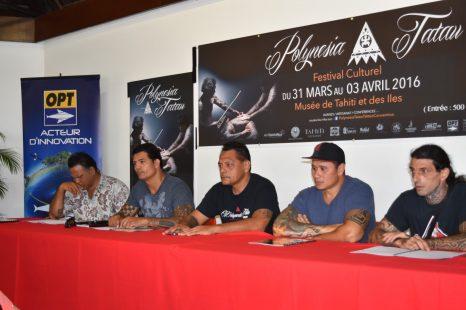 Polynesia Tatau en direct avec l'OPT
