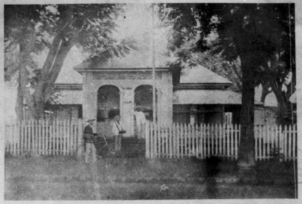 Le bureau de Poste en 1890