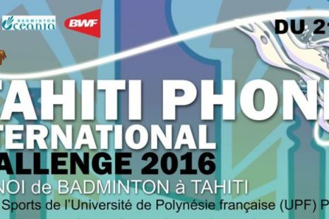 International challenge de badminton avec l'OPT