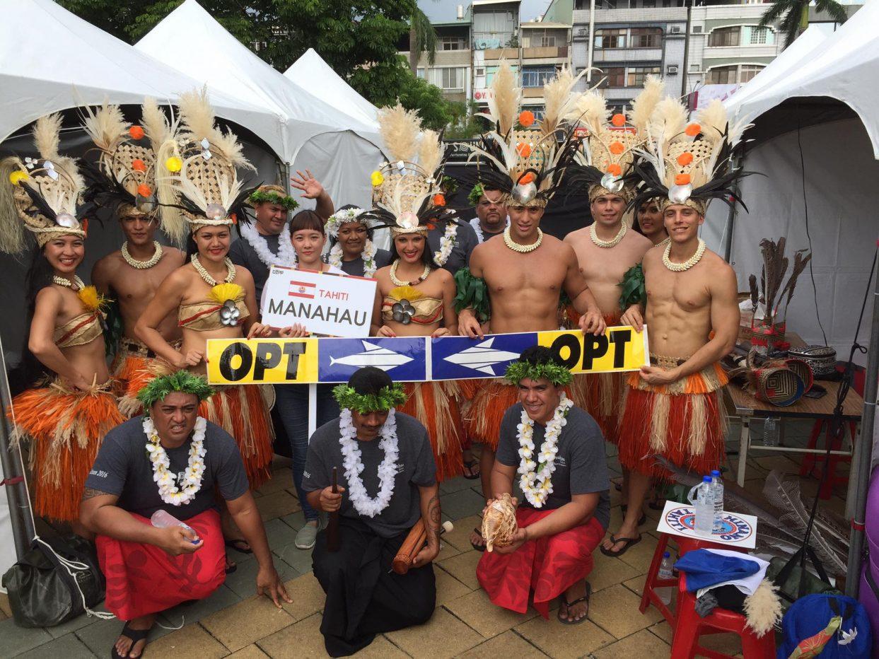 L'OPT fait danser Manahau jusqu'à Taïwan
