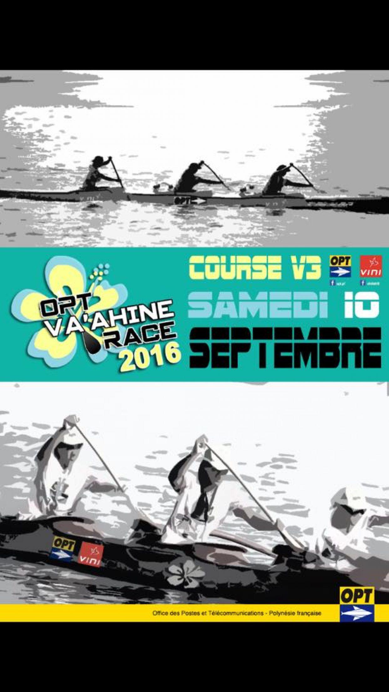 Va'ahine Race 2016 avec l'OPT