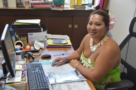 Rosalie MASSIN, assistante chargée de l'animation des ventes