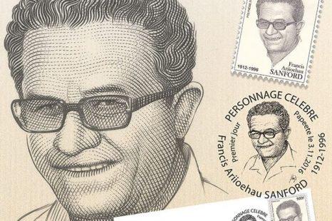 La Poste polynésienne honore la mémoire de Francis Sanford