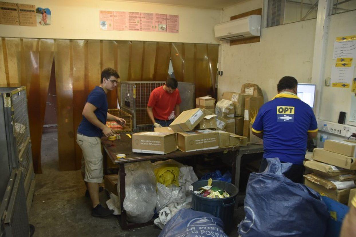 Nouvel échange de métiers à la Poste polynésienne