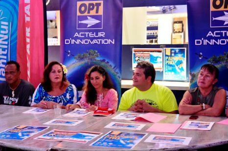 L'OPT soutient la Rangiroa Pro 2017