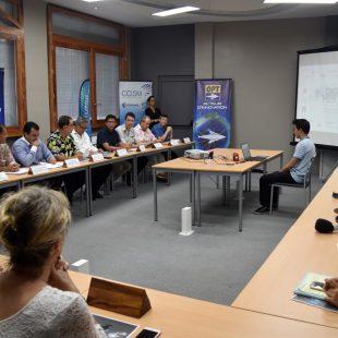 Digital Festival Tahiti avec le groupe OPT