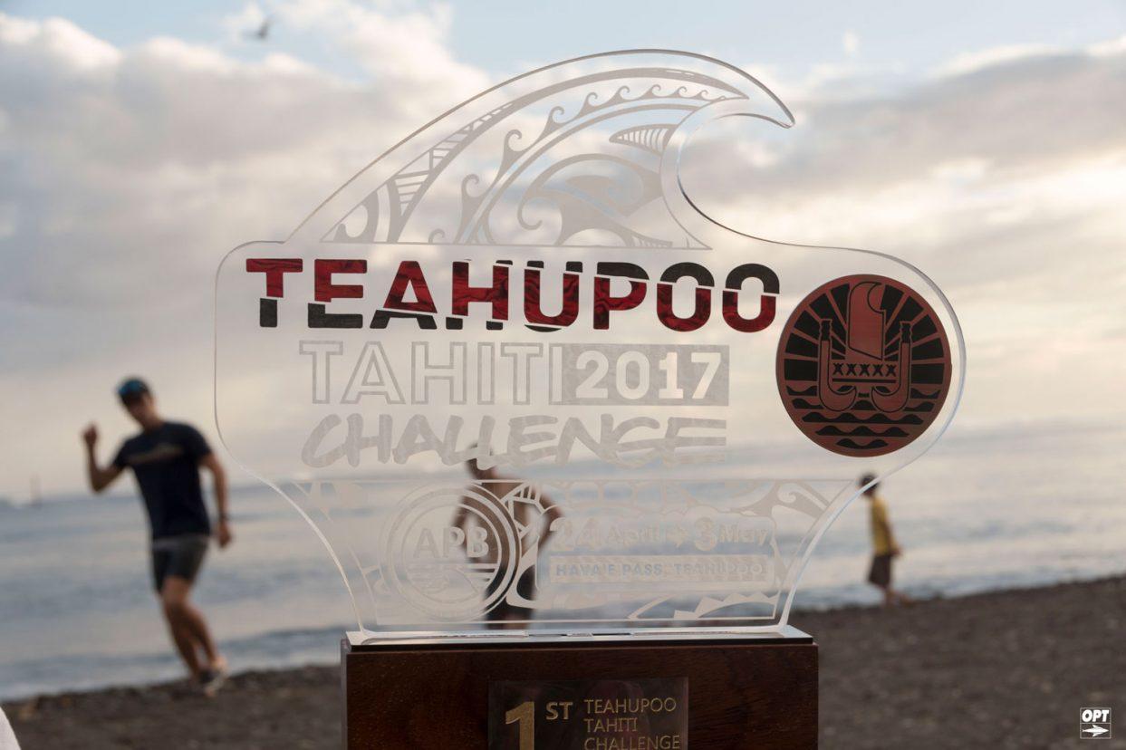 L'OPT au Teahupoo Tahiti Challenge 2017