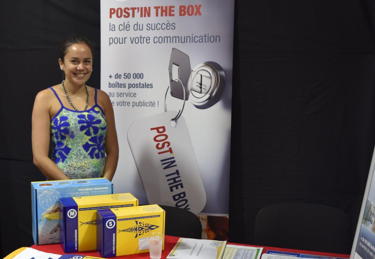 Herenui MANUEL, attachée commerciale à la Poste polynésienne