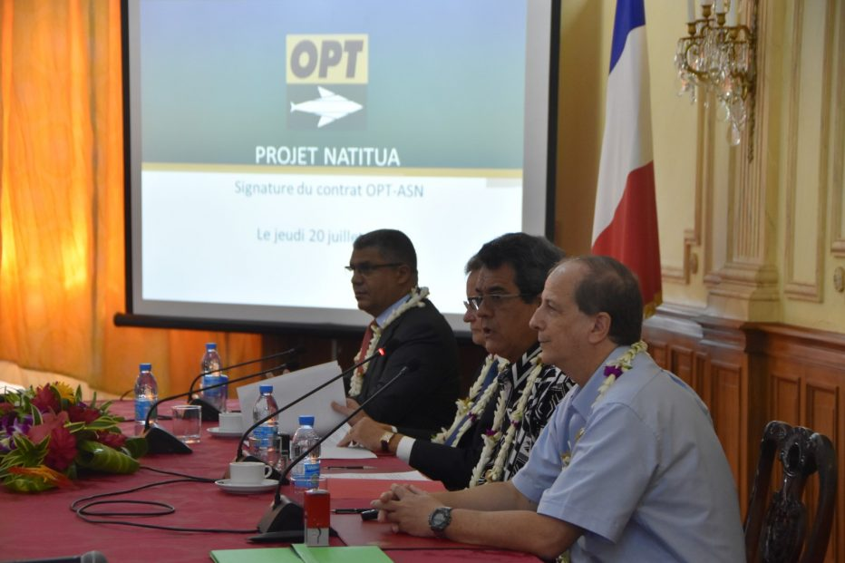 L'Office des Postes et Télécommunications de la Polynésie française et Alcatel Submarine Networks renforceront la connectivité haut débit avec le réseau de câble sous-marin NATITUA