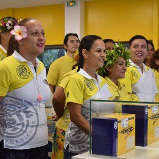 Inauguration du 1er étage du bureau de Poste de Papeete
