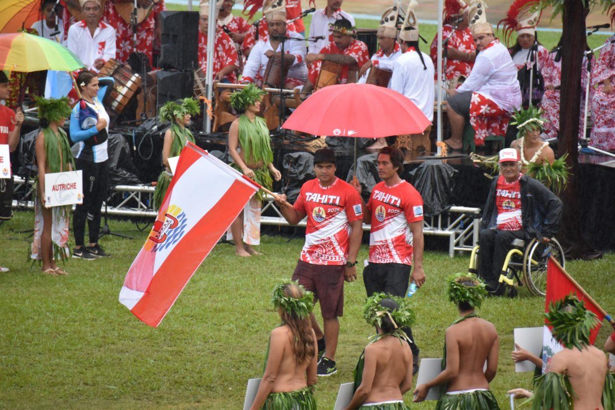 Cérémonie d'ouverture des Championnats du Monde de Va'a