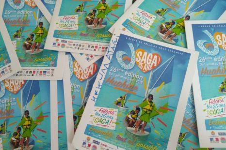 Nos filleuls 🧒👧 de la saga tahiti témoignent au travers de messages écrits et dessinés