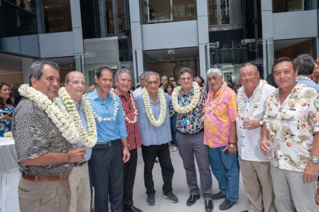 Inauguration de l'immeuble Tua Rata