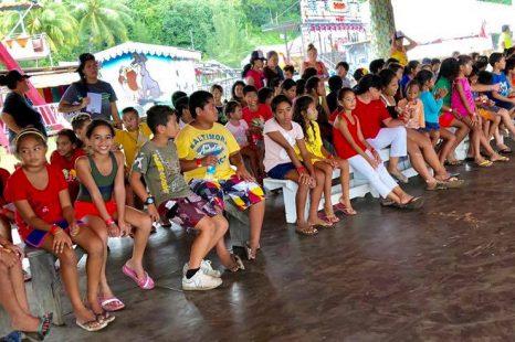 Le noël 🌲🎁 des enfants de la Presqu'île organisé par le Rotary Club de Taravao !