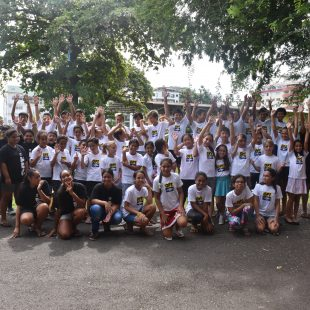 l'OPT accompagne 2 classes 🙋♂🙋♀ de CM2 de l'école Fariimata