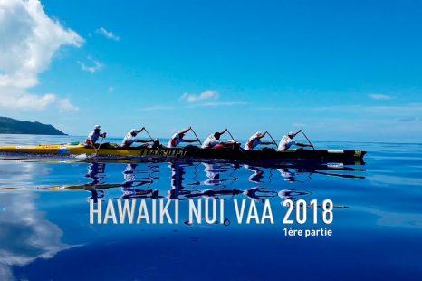 Hawaiki Nui Va'a avec le groupe OPT