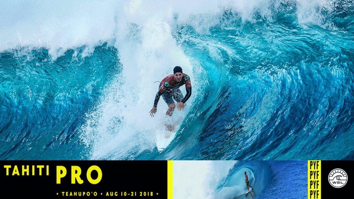 L'OPT, partenaire de la Fts Surf à Teahupoo pour la Tahiti Pro Teahupoo. 🏆🏄🏽♂️
