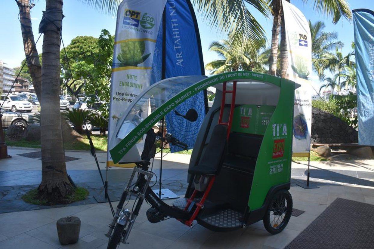 La 1ère édition de TI'A Fenua Eco Durable Expo Marke