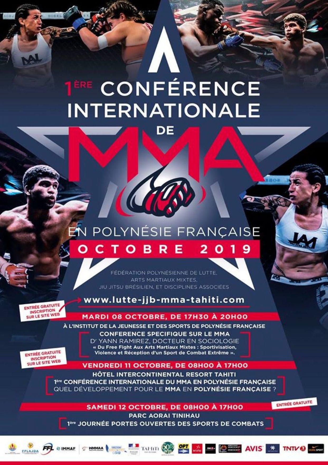 Le #GroupeOPT partenaire de la première conférence internationale de #MMA