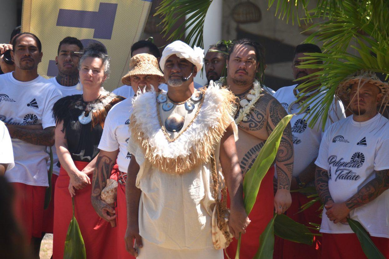 Cérémonie d'ouverture traditionnelle🐚 de la 7e édition de la Polynesia Tatau – Tattoo convention