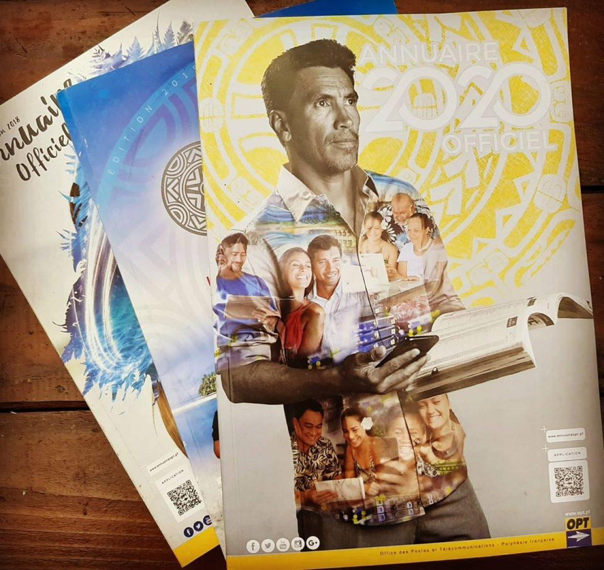 Dernière édition de l'annuaire papier