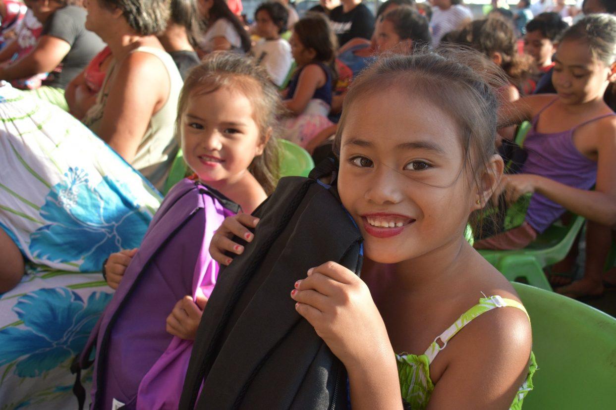 Le Groupe OPT accompagne l'association Te Vahine No Pare Nui